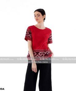 blouse tenun ikat