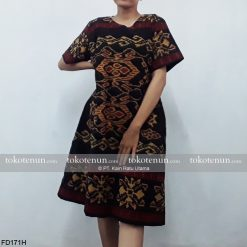 Dress Tenun Ikat