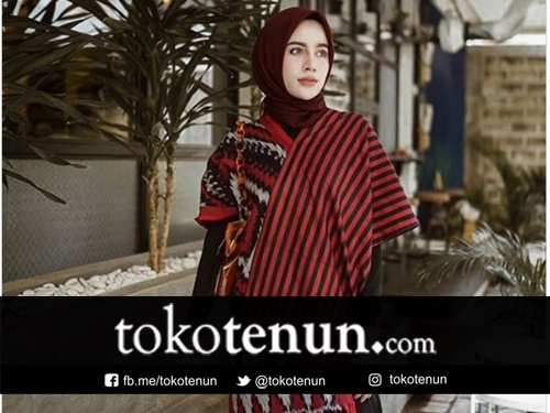 Fashion Tenun Ala Selebgram Indonesia